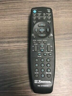 Emerson Replacement Remote Model 6711R2N010U Multicolor Infrared Very Good