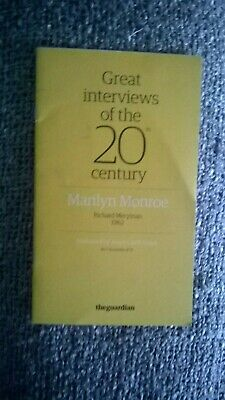 guardian great interviews of the 20th century marilyn munroe
