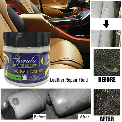 Leather Repair Filler Compound For Leather Restoration Cracks Burns & Holes HQY