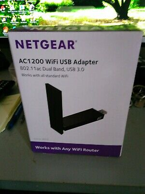 Used Netgear AC1200 wifi usb adapter