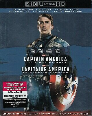 Captain America The First Avenger (4K Ultra Hd/Bluray)(2 Disc Set)(Used)