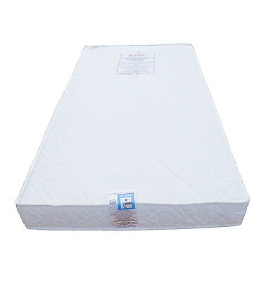 KATY® Superior Deluxe Bound Cot Bed Sprung Mattress & Spare Cover 140x70 x10cm