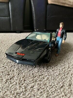 KNIGHT RIDER 2000 Voice Car by Kenner With Action Figure