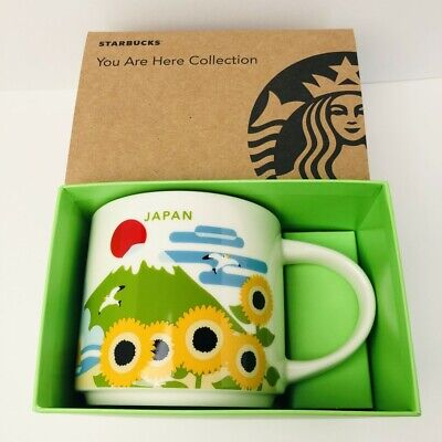 New Starbucks Japan Limited Mug Cup 14oz 414ml You Are Here Summer ver. 2019 F/S
