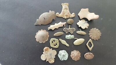 Stunning VR lot of Roman to Post Medieval mounts Please read description L142k