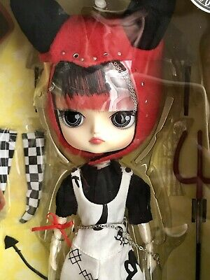 "Jun Planning Groove Little Pullip 4-1//2/"" Fashion Doll Swan F-814 BRAND NEW"