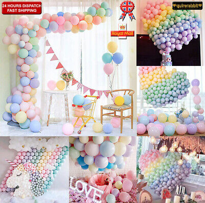Home, Furniture & DIY 50-200X 5 10 Latex Assorted Balloons Arch Garland Birthday Party Baby Shower Balloons
