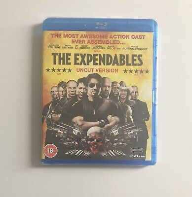 The EXPENDABLES UNCUT Blu-Ray, NEW /SEALED - FAST POST - STALLONE - STATHAM