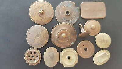 Stunning VR lot of Post Medieval bronze mounts A must read description L142L