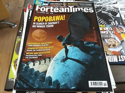 Fortean Times 241 - Popobawa, historical hauntings, church of satan, Bigfoot