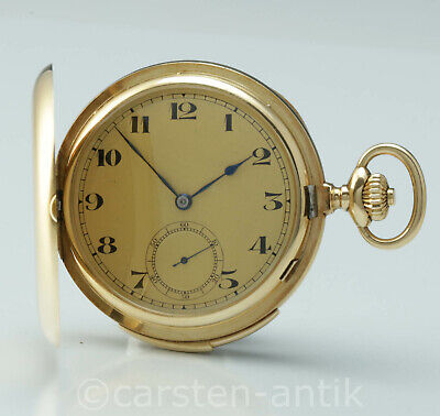 "Audemars Piguet thin minute repeater 18k gold circa 1890 cal. ""CM"" pocket watch"