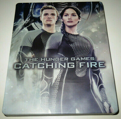 Blu Ray Steelbook HUNGER GAMES CATCHING FIRE (Futureshop) L'EMBRASEMENT (VF)