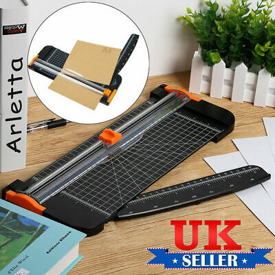 A4 Heavy Duty Professional Office Paper Guillotine Cutter Trimmer Ruler Home Ebo
