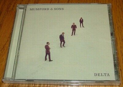 Mumford & Sons Delta CD Glassnote GLS-0240-02 Mexico 2018 NEW SEALED