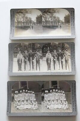 Mint Condition WWI Photo Stereo Cards Artifact Collection (1917)