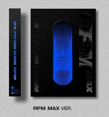 FNC SF9 - RPM [RPM MAX ver.] (7th Mini Album) CD+84p Photobook+On Pack Poster+Co