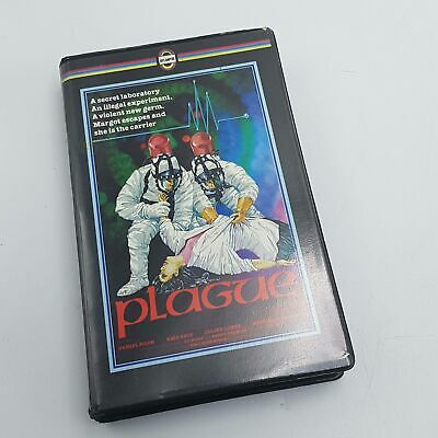 PLAGUE Betamax Video Cassette Ex Rental Tape PAL UK Atlantis 1980's