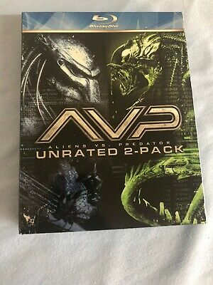 Alien vs. Predator/Alien vs. Predator: Requiem (Blu-ray Disc, 2009, 2-Disc Set,