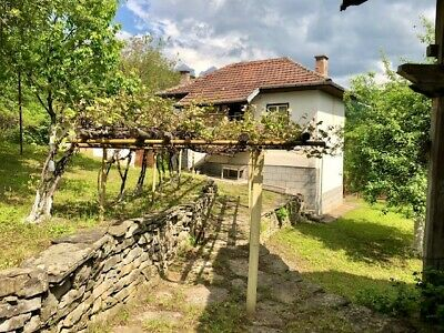 Beautiful Bulgarian detached house large gardens, outbuildings, fruit trees.