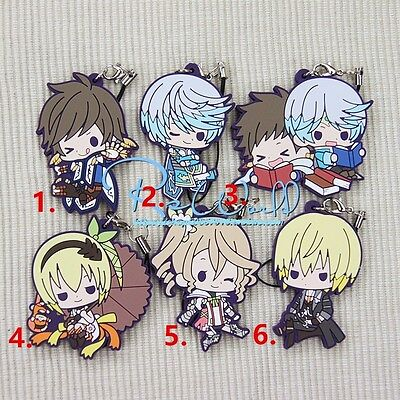 The Frut Labyrith The E den of Griaia Series Anime Rubber Strap Keychain Charm