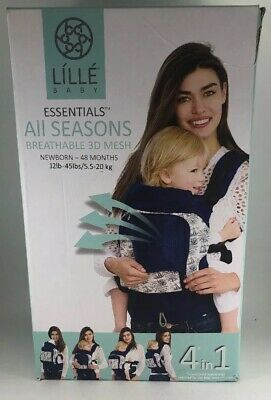 NEW LILLEbaby 4-Position COMPLETE All Seasons Baby & Child Carrier STAR STRUCK