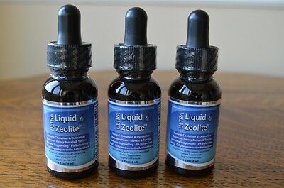 3 x Bottles Ultra Liquid Zeolite with DHQ - FREE DELIVERY