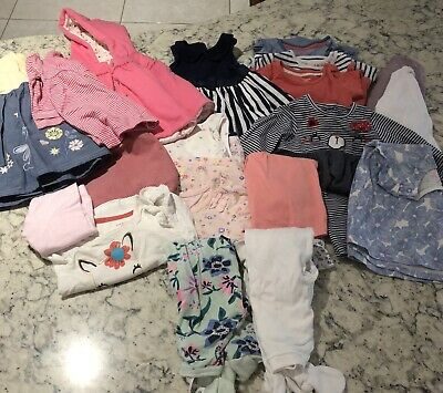 Bundle Of Baby Girl Clothes 3-6 Months (M&S, F&F, H&M, Wondersuit, Next Etc)