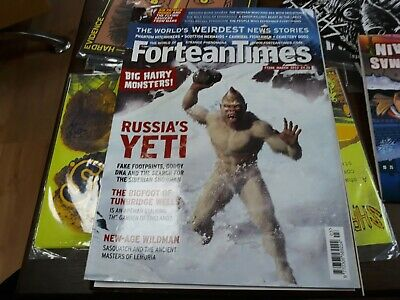 Fortean Times 298 - Russian yeti, Tunbridge Wells bigfoot, Sasquatch and Lemuria