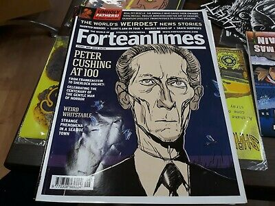 Fortean Times 301 - Peter Cushing centenary, Weird Whitstable, Haunted Mirrors