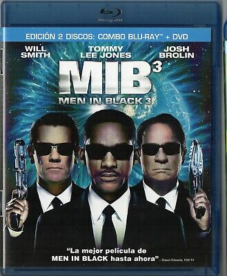 Men In Black 3 Blu Ray + Dvd Donchollo