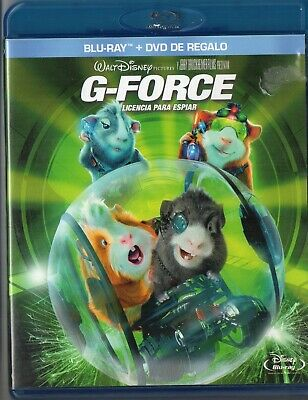 G Force Blu Ray + Dvd Donchollo