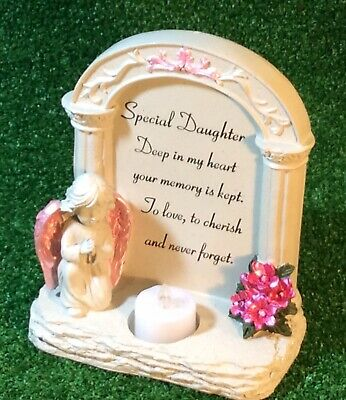 Daughter Archway To Heaven Grave Memorial Ornament, Graveside Tribute Gift.