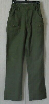 Boy Scouts of America Youth Boys Official Uniform BSA Green Pants Size 18