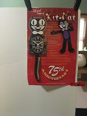 Poster The Life & Times Of Kit-Cat 75th Anniversary