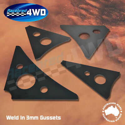 Laser Cut Weld In 3mm Thick 150mm Length Gussets Style 1