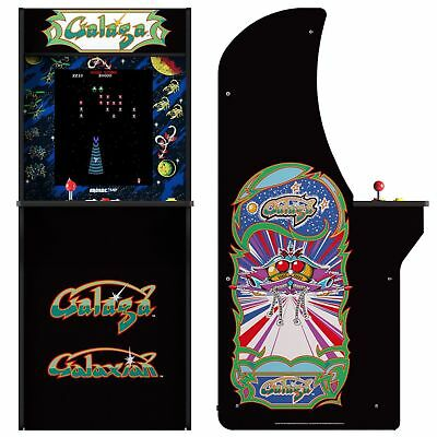 Arcade1Up Galaga + Galaxian Arcade Cabinet Machine Video Game - Free Shipping