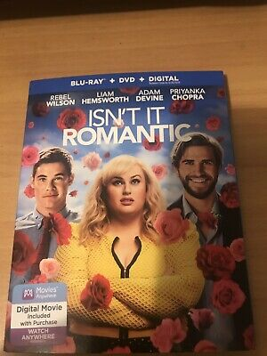 Isnt It Romantic (2019/Blu-Ray/Dvd/Digital Brand New Sealed Ships Out Same Day
