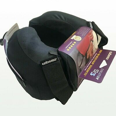 NEW Cabeau Evolution S3 Memory Foam Neck Travel Pillow JETBLACK RRP$60 TPEP2955