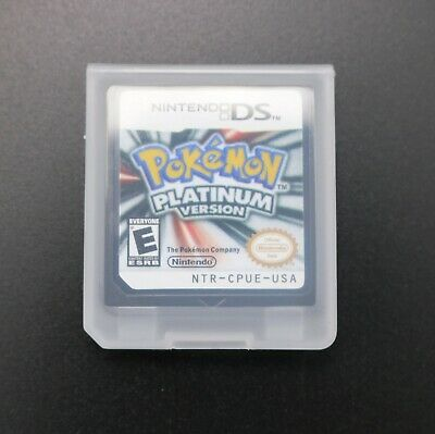 Pokemon Platinum USA Version Video Game for Nintendo DS Lite TESTED