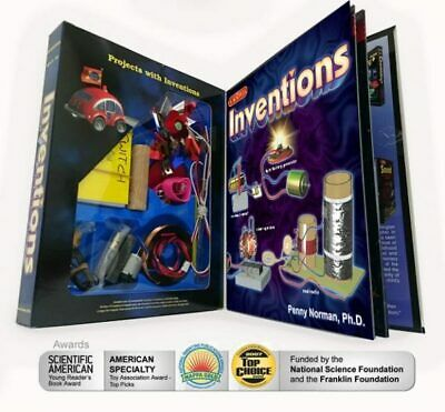 Science Wiz Invention Kit with Book Teacher Resource Experiment Kids Learning