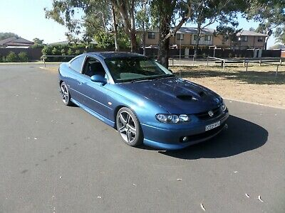 2002 Cv8 Monaro Registered Body.