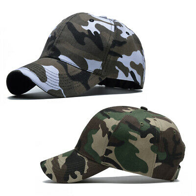 247767012e1326 Mens&Womens Baseball Cap Military Army Camo Hat Trucker Camouflage Outdoor  Sport