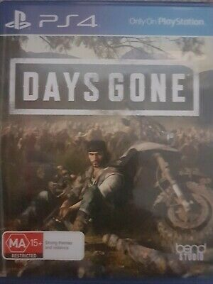Days Gone PS4 Playstation 4 Like New