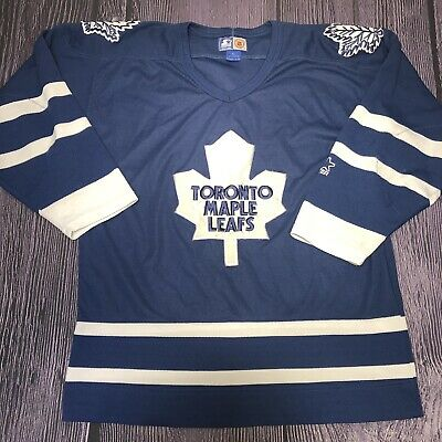 low priced 0c7cd 9b42c VINTAGE TORONTO MAPLE Leafs Starter NHL Hockey Jersey Size Large