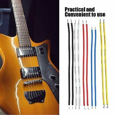 10x Pro Conductor Shielded Electric Guitar Bass Circuit Hookup Wire Cable 9/19cm
