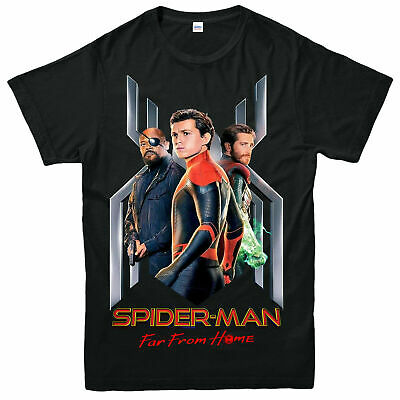 Spider Man Far From Home T-Shirt, American Superhero Adult & Kids Tee Top