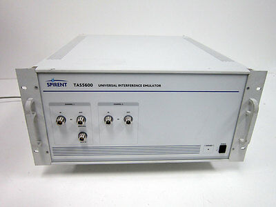 Spirent TAS5600 Universel Interférence