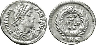 Silver Siliqua of emperor VALENS (364-378). Antioch. Excellent and rare piece!