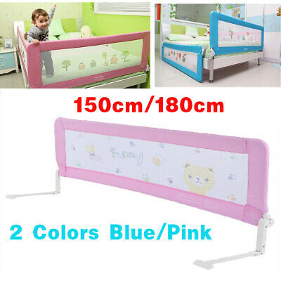 Kids Baby Bed Rail 150/180cm Child Bed Guard Toddler Safety Children Bedguard