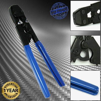 """PEX Cinch Crimp Crimper Crimping TOOL for SS Hose Clamps Sizes from 3/8"""" to 1"""".."""